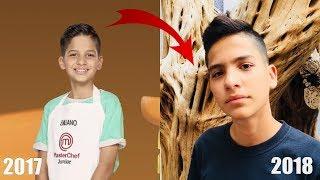Mira cómo luce Emiliano Lopez el niño de Junior Masterchef 1 año DESPUÉS