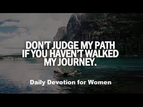 Daily Devotional for Women: Throwing Stones