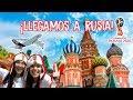 ¡😱💪LLEGAMOS A RUSIA PARA EL MUNDIAL DE FÚTBOL!⚽🇵🇪   MPV