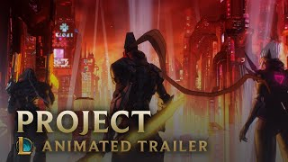 PROJECT: OVERDRIVE | Skins Trailer - League of Legends