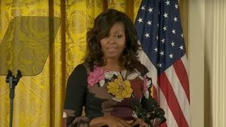 Michelle Obama on election: 'We are Americans first...