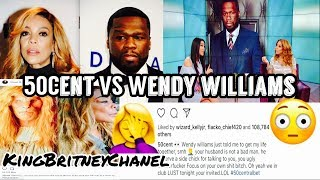 50 Cent Speaks On Wendy Williams Marriage | What Is Going On With Wendy?
