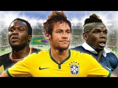 2014 World Cup Dream Team! Neymar, Pogba, Lukaku