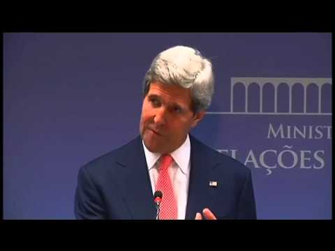 Secretary Kerry Comments on Israeli-Palestinian Relations