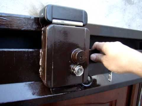 Portop electrocerradura de seguridad ii mecanismo - Cerrojos de seguridad para puertas ...