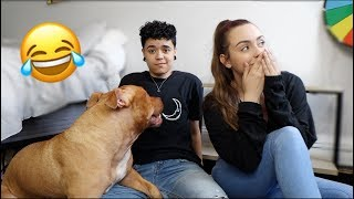 IGNORING OUR DOG PRANK! *HILARIOUS*
