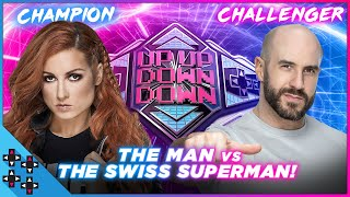 BECKY LYNCH vs. CESARO – UpUpDownDown Championship Match