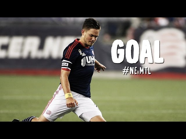 GOAL: Kelyn Rowe hits a rocket from distance | New England Revolution vs. Montreal Impact