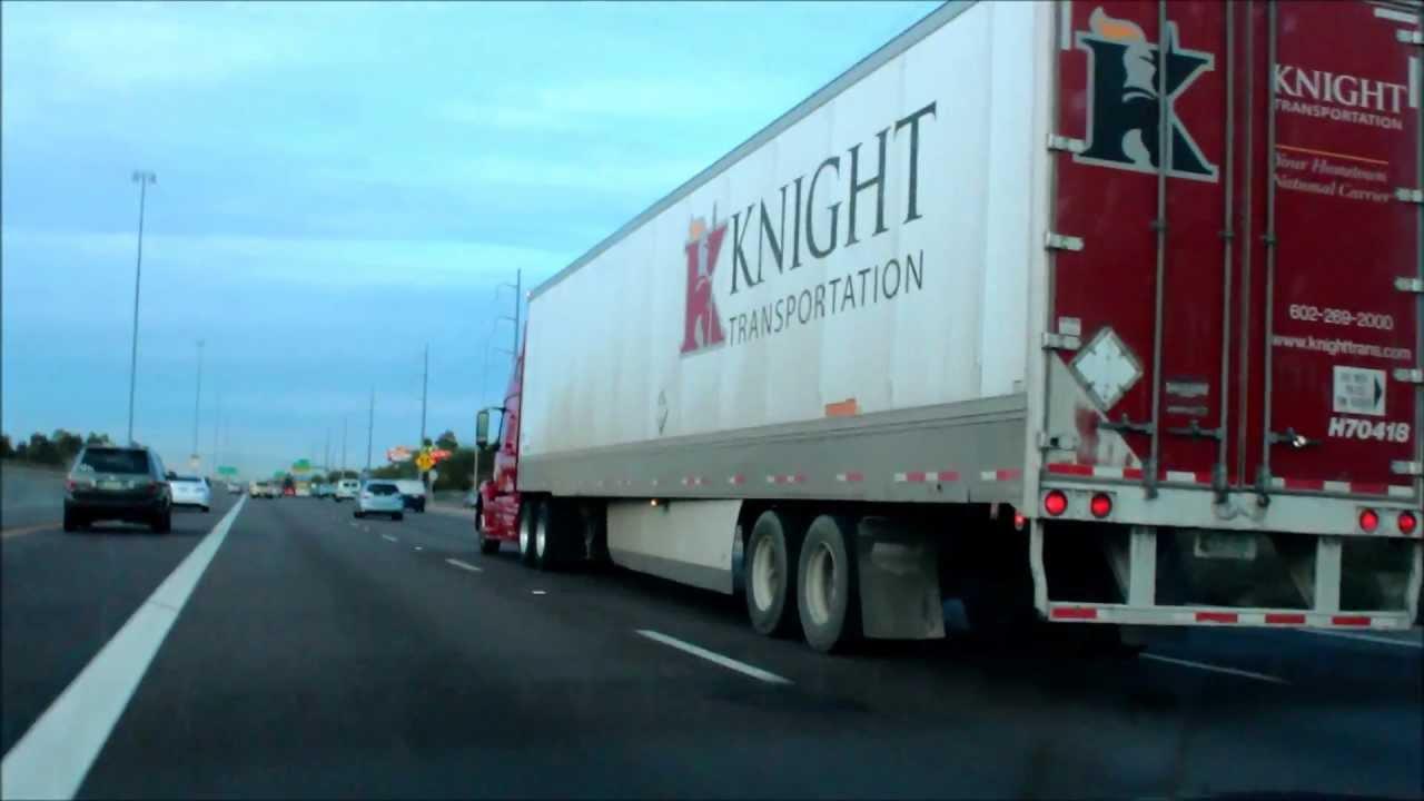 Volvo Of Phoenix >> Knight Transportation Owner Operator on I-17 in Phoenix ...
