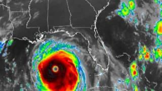 Hurricane Katrina IR Animation