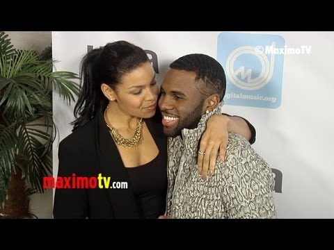 Jordin Sparks &amp; Jason Derulo NARM Music Biz Awards 2013 ARRIVALS @jordinsparks @jasonderulo