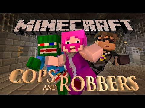 Minecraft Parkour Cops n' Robbers!