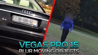 How To Blur Moving Objects in Vegas Pro 15
