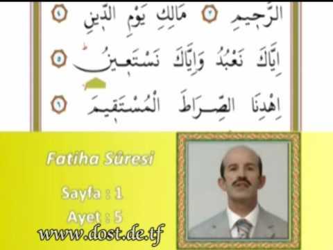 Fatiha Namaz Suresi www.dost.de.tf