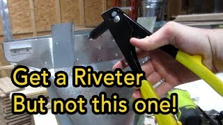 Harbor Freight: Rivet Tool Review (unsponsored)