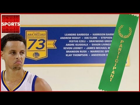 The Internet Shredded the Warriors for Hanging a 73-Win Banner