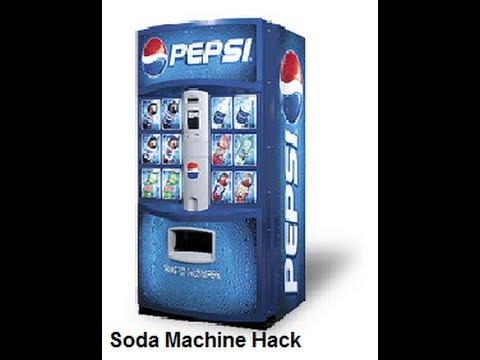 snack vending machine hack code
