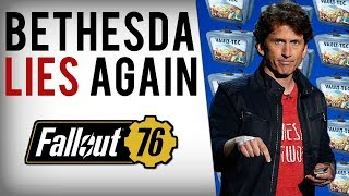 Bethesda Lies, Fallout 76 Loot Boxes Leaked In Game Files & They