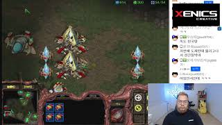 스타1 StarCraft Remastered 1:1 (FPVOD) Larva 임홍규 (Z) Shuttle 김윤중 (P) Sylphid