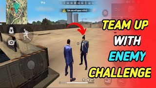 TEAM UP CHALLENGE IN RANK MATCH FREE FIRE || MUST WATCH || WARRIOR ARMY
