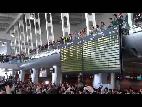 Lviv Airport, Anthem of Europe