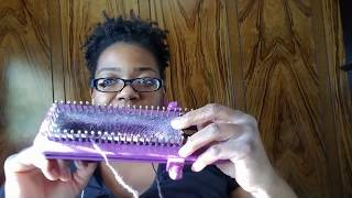 Purple Georgia Product Review: Knit Quick Sock Loom