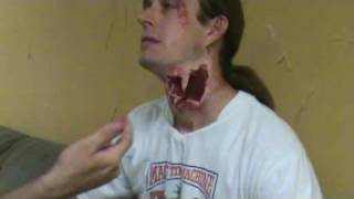 Mold Making Makeup FX Silicone Zombie Bite