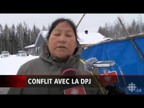 Trafic d'enfants du DPJ au lac simon (Reportage Radio-Canada)