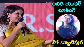 Actress Lavanya Tripathi Cute Telugu Speech @ Antariksham Movie Trailer Launch
