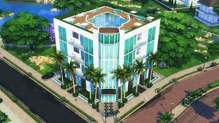 NEWCREST PLAZA HOTEL - Povoando Newcrest #9 │The Sims 4 (Speed Build)
