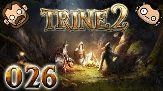 Let's Play Together Trine 2 #026 - Rosabels Drache [720p] [deutsch]