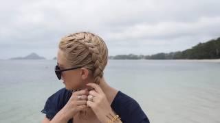 The best wet hair braids tutorial