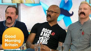 Movember is Back | Good Morning Britain