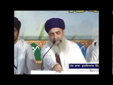 Sant Baba Gurdial Singh Ji Tande Wale 21sep11 video