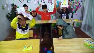 Kids Go To School Learn Colors with ToY Nose Family Song Johny Yes Papa Nursery Rhymes