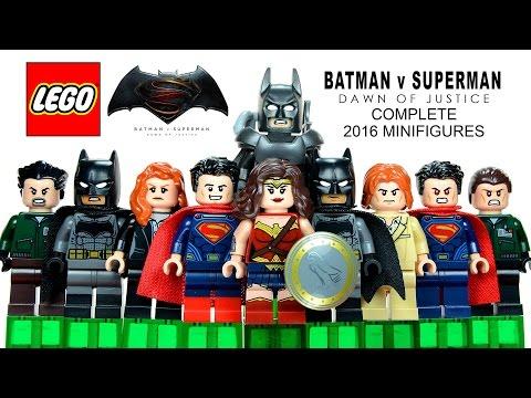 LEGO® 2016 Batman v Superman: Dawn of Justice DC Comics Super Heroes Complete Minifigures