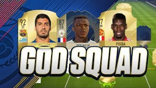 GOD SQUAD MED 3 IKONER! 🔥 | MITT 4 MILJONER LAG TILL WEEKEND LEAGUE | FUT CHAMPIONS SQUAD BUILDER