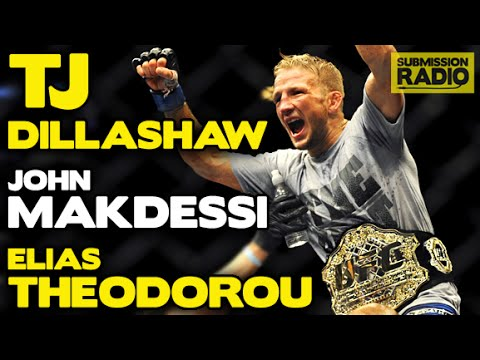 Submission Radio 17/5/15 TJ Dillashaw, Elias Theodorou, John