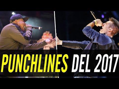 Los 100 MEJORES PUNCHLINES De Todo 2017! l Freestyle Rap
