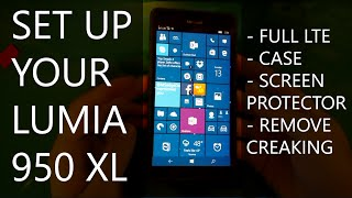 How to Set Up Your Lumia 950 XL (AT&T LTE fix, Covers, Protectors, & More)
