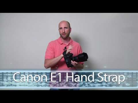 It's the Canon E-1 Hand Strap