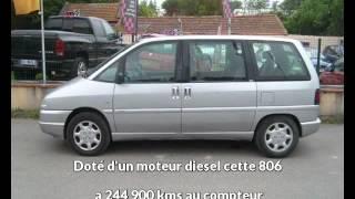 Peugeot 806 occasion visible à Toulouse présentée par Alliance automobiles