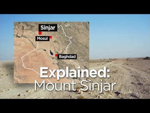 Explained: Mount Sinjar and the Yazidis