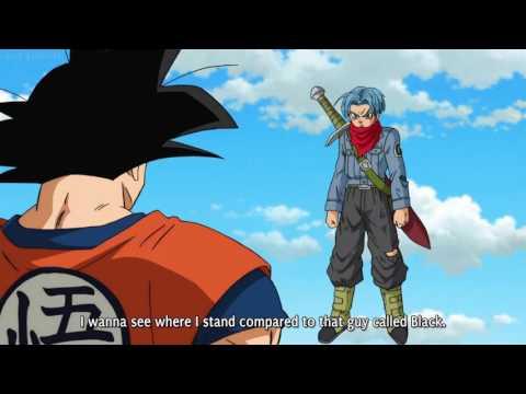 Super saiyan 3 Goku vs Super Saiyan 2 Trunks