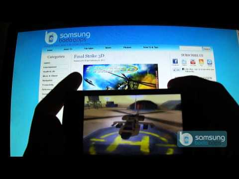 Final Strike 3D Action Game for Samsung Wave(Bada OS): Demo on s8530