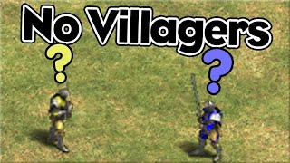 No Villagers AoE2 Game