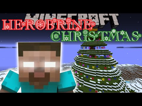 Minecraft: HEROBRINE STOLE CHRISTMAS (Custom Map) Part 4