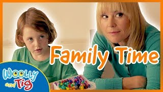 Woolly and Tig - Arts and Crafts with Mum | Family Time | TV Show for Kids | Toy Spider