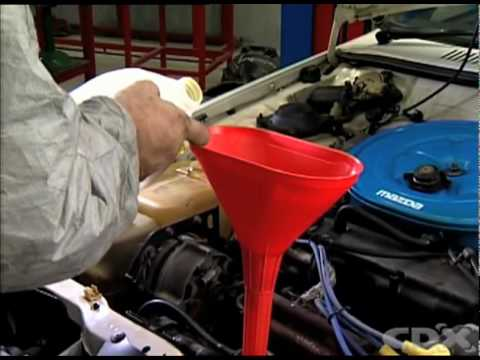 Replacing Vehicle Coolant