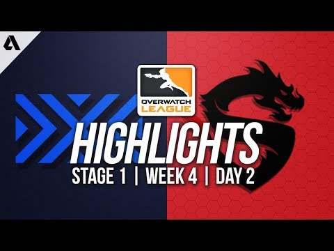 New York Excelsior vs Shanghai Dragons ft Pine | Overwatch League Highlights OWL Week 4 Day 2
